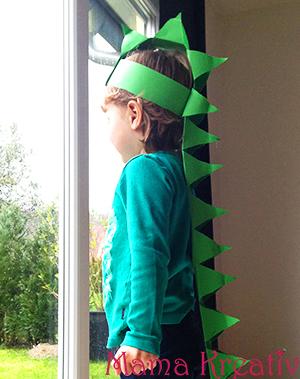 Dino Kostum Ganz Einfach Selber Machen Mama Kreativ