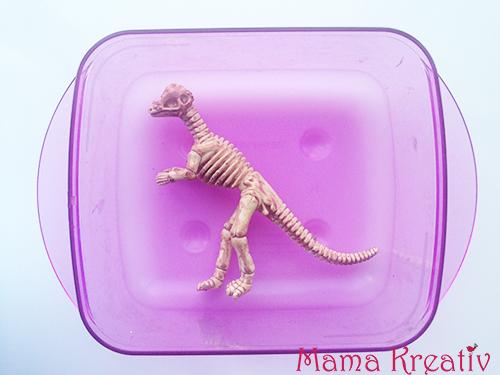 dinosaurier ausgrabung set selber machen dino party ideen gips kinder