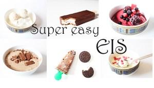 Die besten und einfachsten Eis-Rezepten +Video