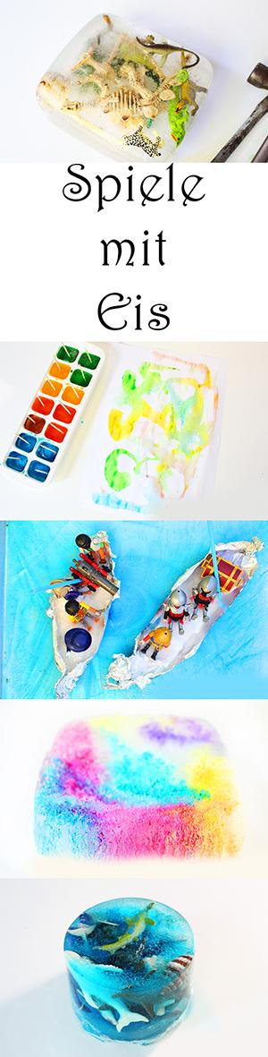 5 Ideen Zum Malen Und Spielen Mit Eis Im Sommer Video Mama Kreativ
