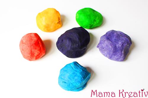 Knete Einfach Selber Machen Für Kinder Kleinkinder Krippenkinder