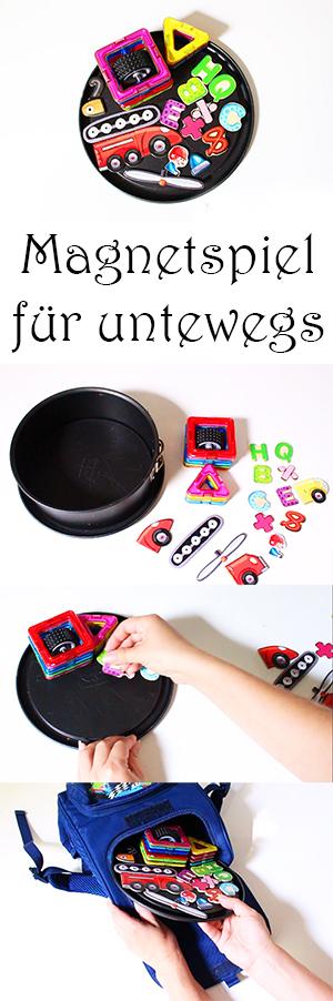 Reisespiele für Kinder - Magnetspiel für unterwegs