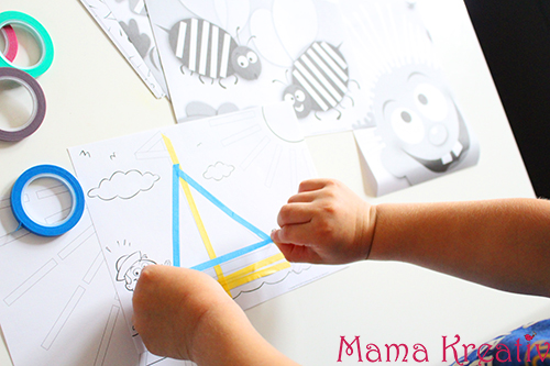 Feinmotorik spiele für kleinkinder kleben lernen