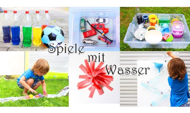 Spiele mit Waser für Kinder im Sommer | Wasserspiele für draußen | Water Activities