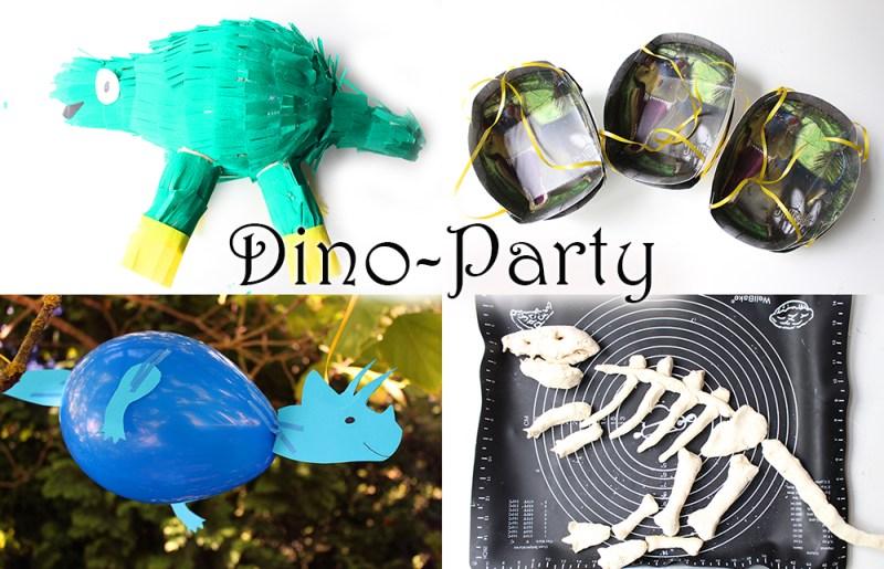 Dino Geburtstag Spiele Deko Und Rezepte Mama Kreativ