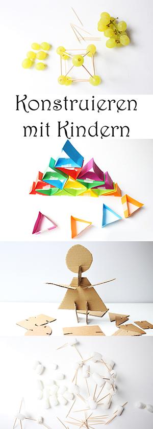 Spiele basteln. Bauen und Konstruieren mit Kindern