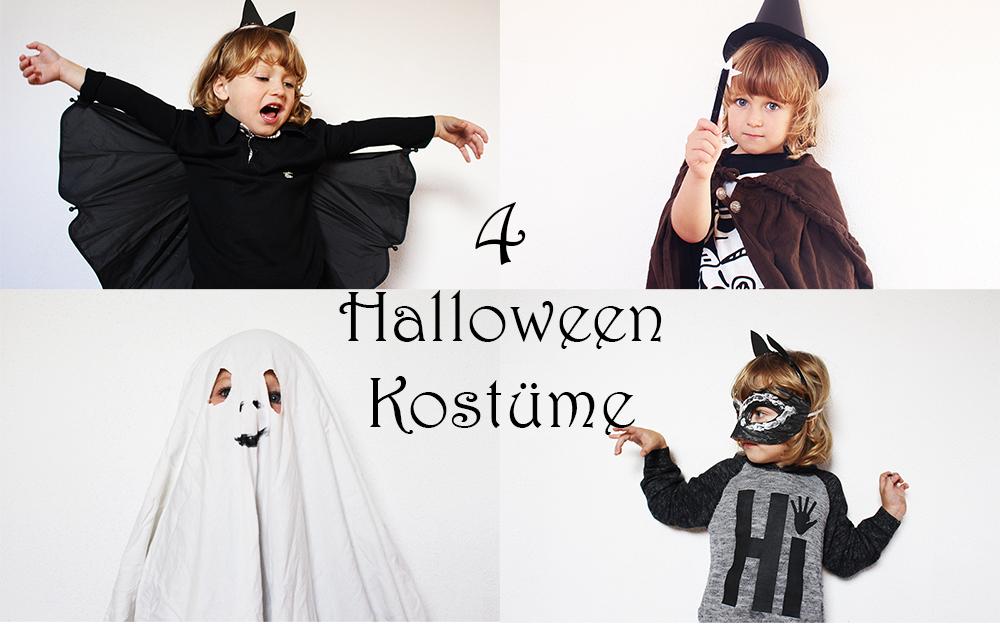 Halloween Kostüme für Kinder einfach selber machen
