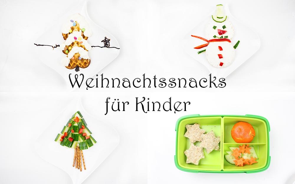 gesunde weihnachtssnacks für Kinder