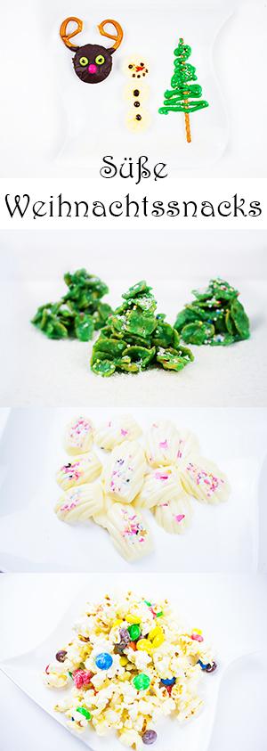 DIY Geschenkideen: süße Weihnachtssnacks zum Verschenken oder zum Naschen selber machen