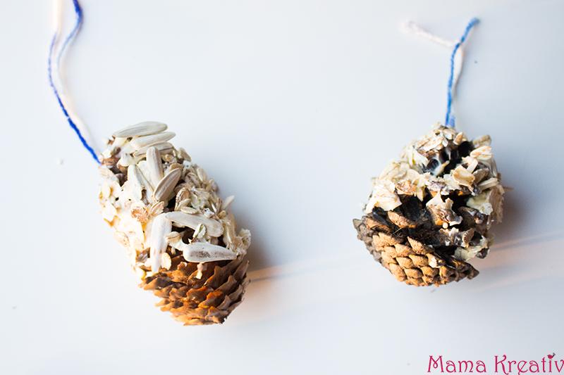 Vogelfutter selber machen erstellen aus Samen und Nüssen (9)