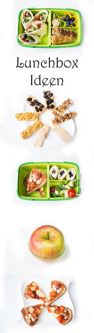 Lunchbox Ideen Kinder Kindergarten gesund schnell