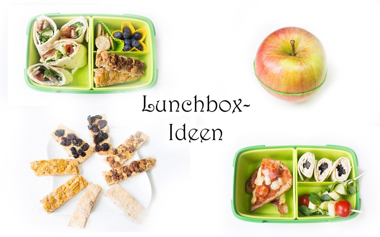 Lunchbox Ideen für Kinder Kindergarten gesund schnell einfach