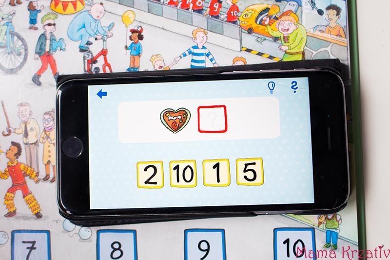 Buchstaben und Zahlen mit Kindern lernen buch bücher app carlsen clever (23)