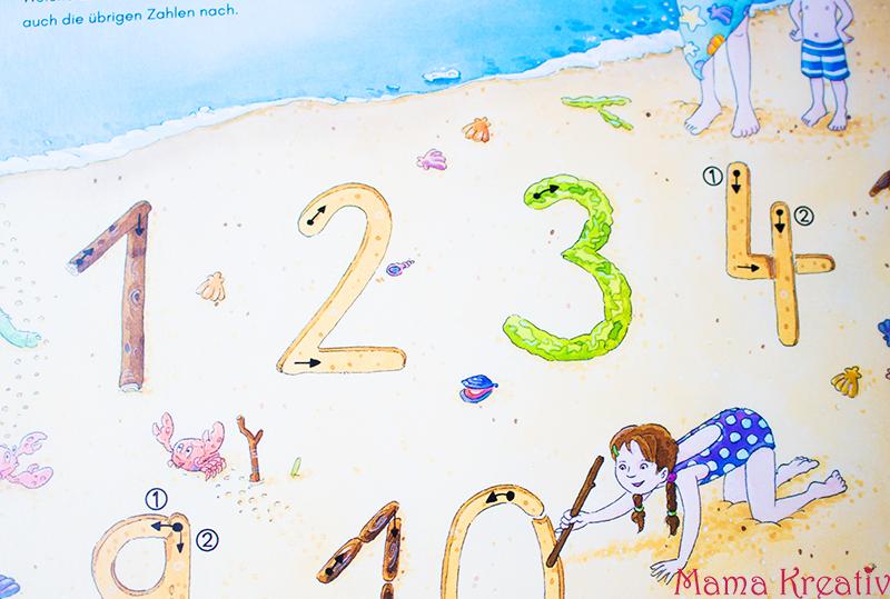 Buchstaben und Zahlen mit Kindern lernen buch bücher app carlsen clever (29)