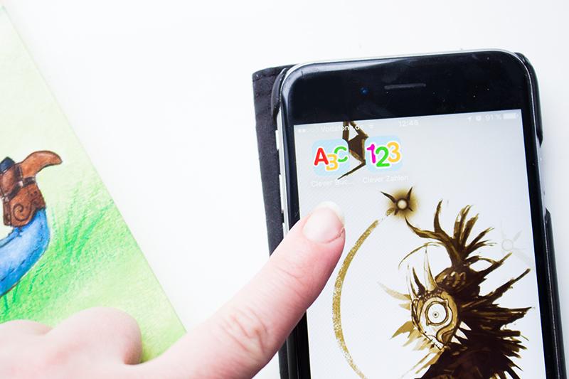 Buchstaben und Zahlen mit Kindern lernen buch bücher app carlsen clever (37)