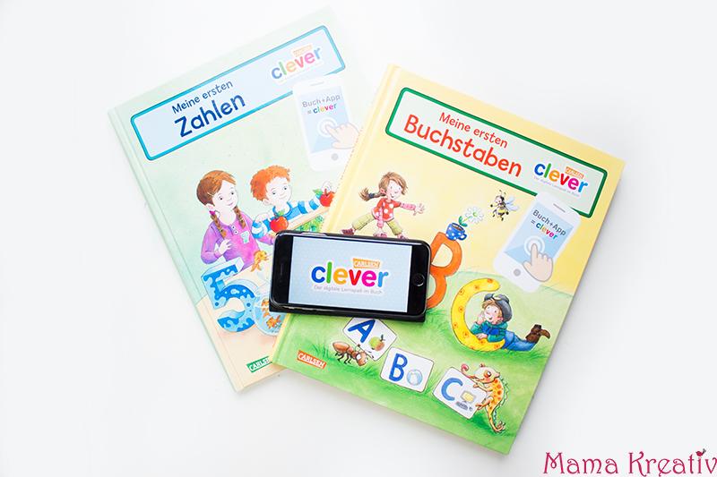 Buchstaben und Zahlen mit Kindern lernen buch bücher app carlsen clever (59)