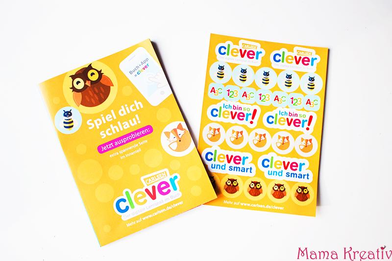Buchstaben und Zahlen mit Kindern lernen buch bücher app carlsen clever (60)