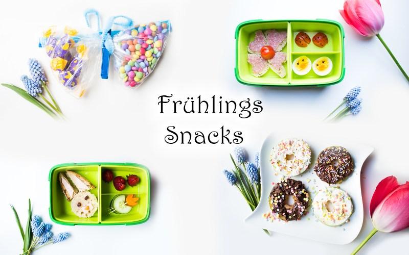 Snacks und Lunchbox-Ideen für Kinder im Frühling