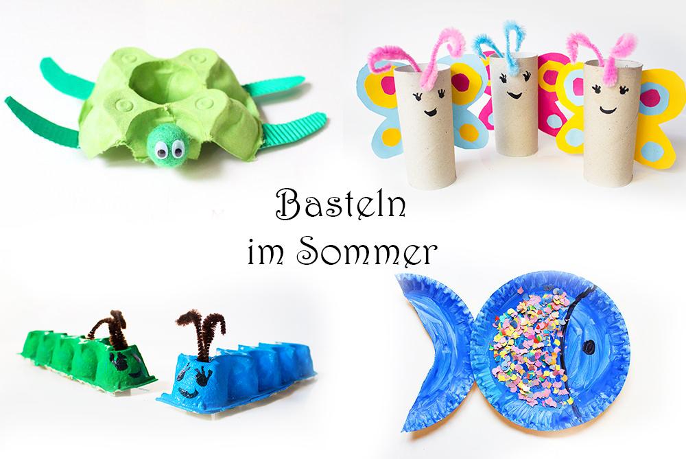 Basteln Sommer basteln mit kindern im sommer 20 tolle ideen kreativ
