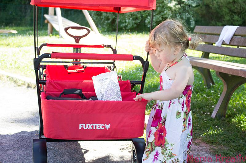 FUXTEC Bollerwagen mit Sonnendach Test Erfahrung Erfahrungsbericht (6)
