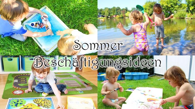 Sommer beschäftigungsideen für Kinder in den Ferien Kinder beschäftigen
