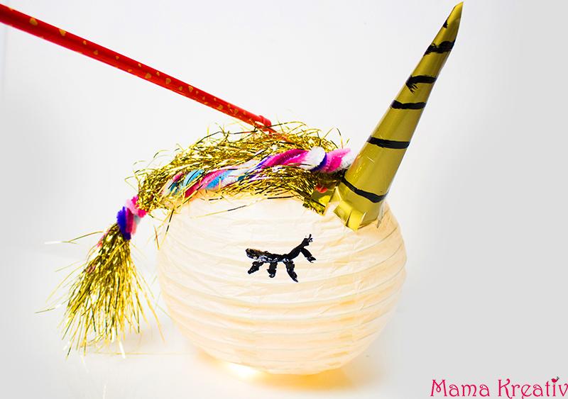 ... Und Den Lampions Von Ihrem Geburtstag In Ihrem Zimmer Sah. Und Das  Basteln Hat Uns Mal Wieder Richtig Spaß Gemacht, Trotz Die Kleine Rotznasenu2026