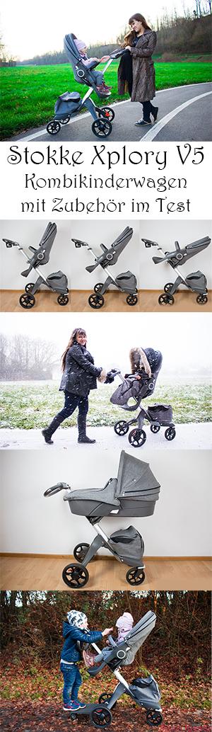 Stokke Xplory V5 - Kombikinderwagen mit Zubehör im Test mit Kleinkind und Baby #lifestyle #kinder #kinderwagen