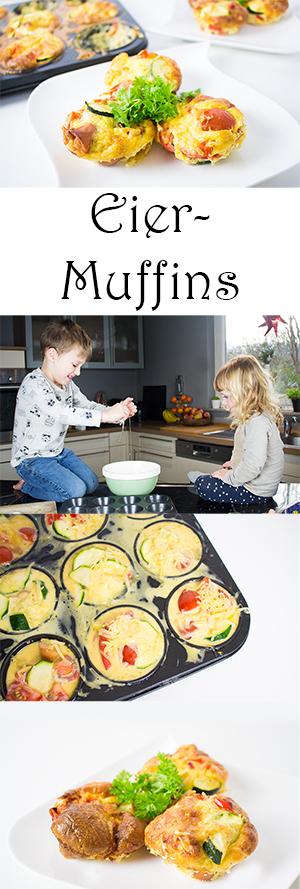 Kochen mit Kindern gesunde Frühstücksideen - Eier Muffins