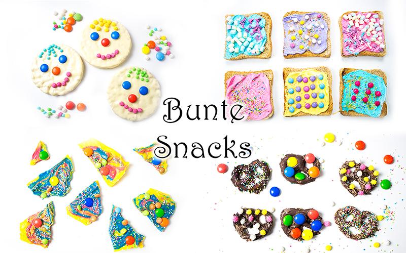 Faschingsparty Rezepte - bunte Fasching Snacks und Ideen