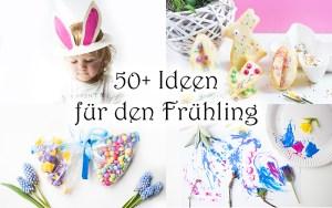 Über 50 Ideen für Kinder im Frühling spielen malen basteln deko ostern rezepte