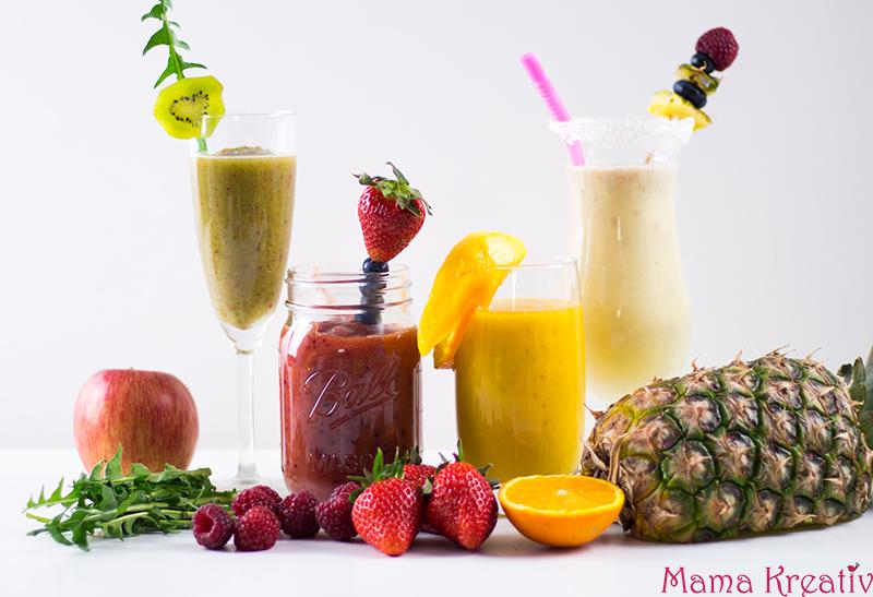 Smoothie-Rezepte gesunde Frühstücksideen