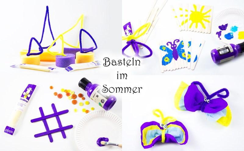 Coole Bastelideen für Kinder im Sommer - Mama Kreativ