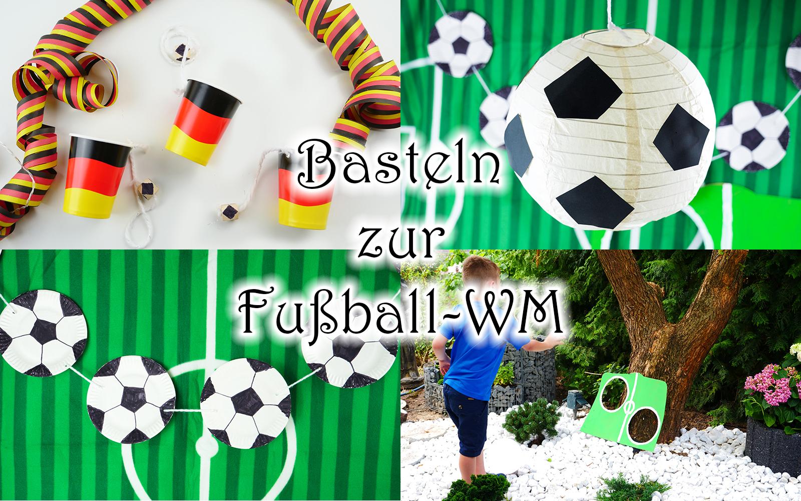 Faszinierend Collage Basteln Ideen Von Mit Kindern Zur Fußball Party Wm Und