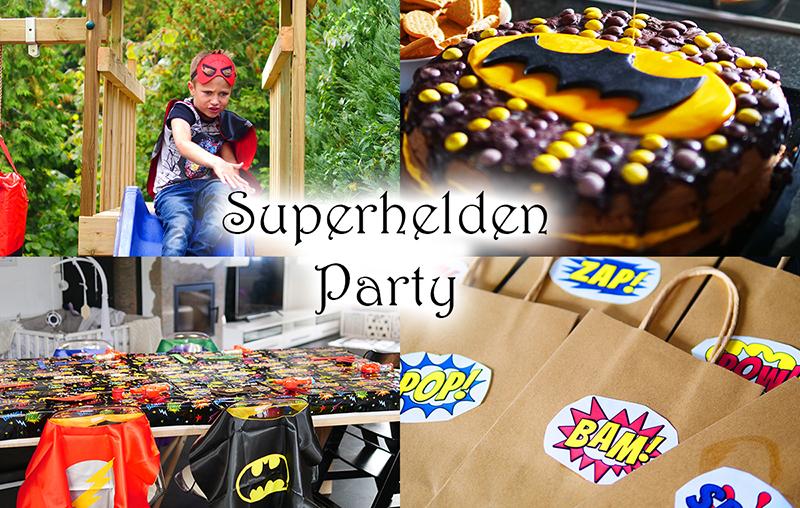 Superhelden Party Kindergeburtstag Ideen Deko Rezepte Spiele Superheldengeburtstag 1