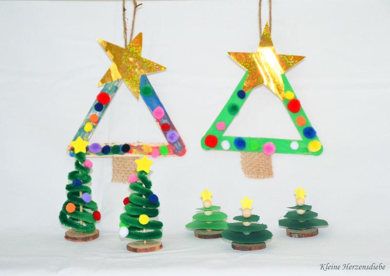 Tannenbaum Mit Kindern Basteln