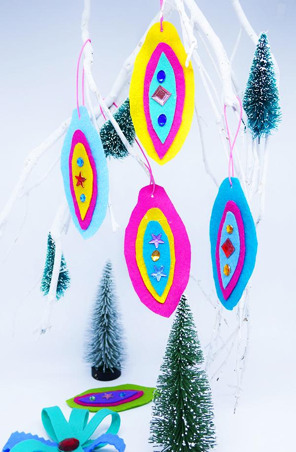 Weihnachtsanhanger Aus Filz Basteln Mama Kreativ