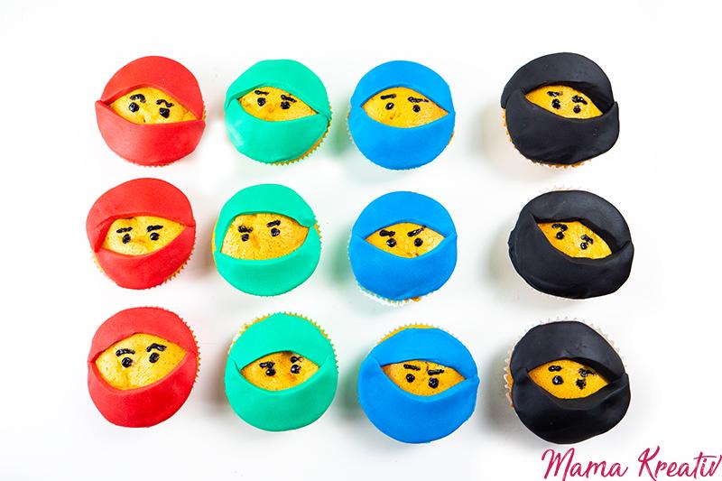 ninjago muffins backen das einfachste rezept — mama kreativ