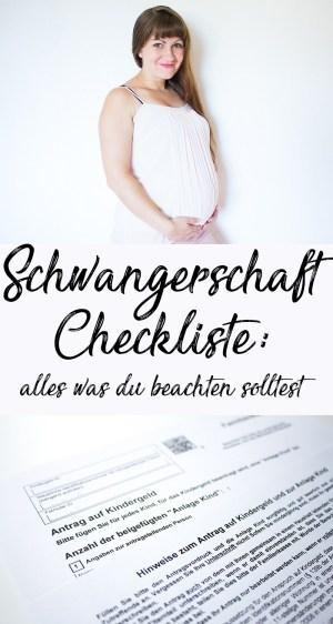 Schwangerschaft Checkliste alles was du beachten solltest - große Checkliste für Schwangere mit Tipps