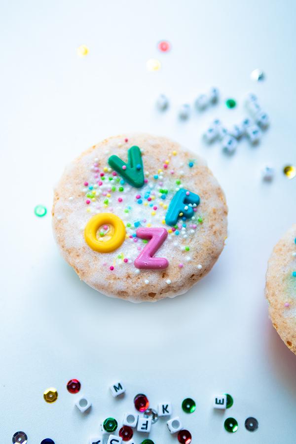 Apfel Muffins zur Einschulung backen - Schule Rezepte