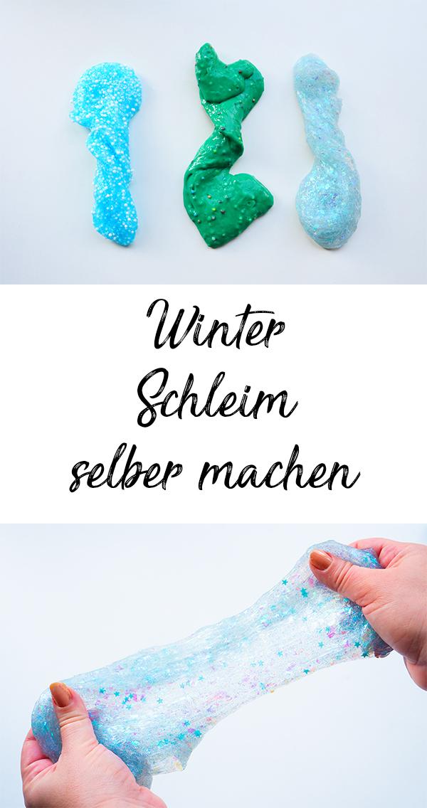 Weihnachten: 4 coole Beschäftigungsideen für Winterabende Schleim selber machen Adventskranz Schneeflocken Weihnachtskarten basteln