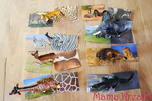 spiele selber machen assoziationsspiel afrikanische tiere mama kreativ. Black Bedroom Furniture Sets. Home Design Ideas