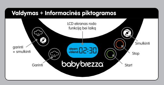 Baby Brezza One Step Deluxe garintuvas trintuvas