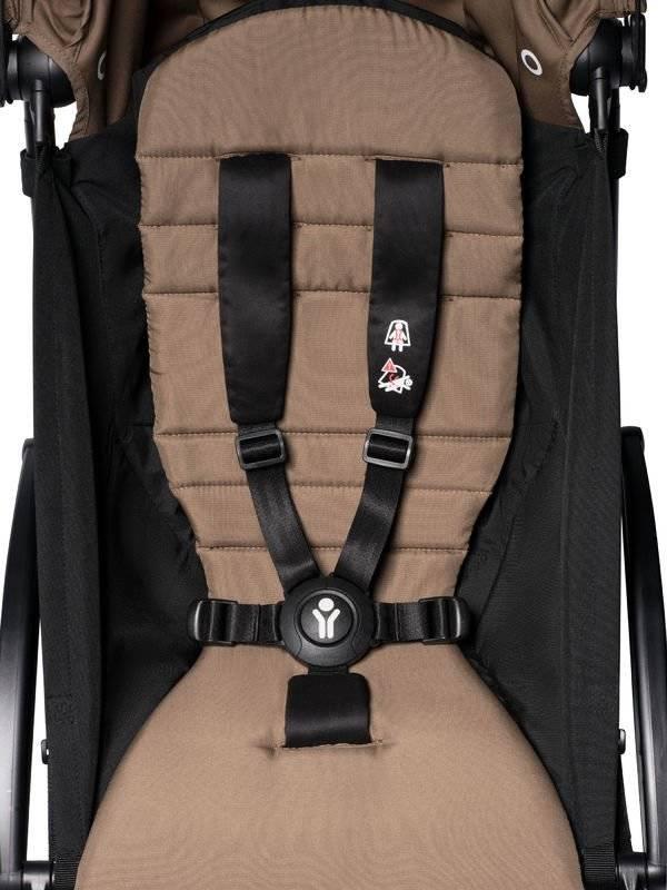BABYZEN YOYO² 6 vežimėlis Frame White + Color Pack, Toffee