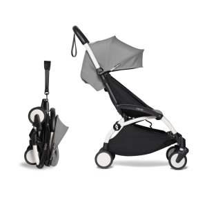 BABYZEN YOYO² 6+ vežimėlis rėmas White, Grey