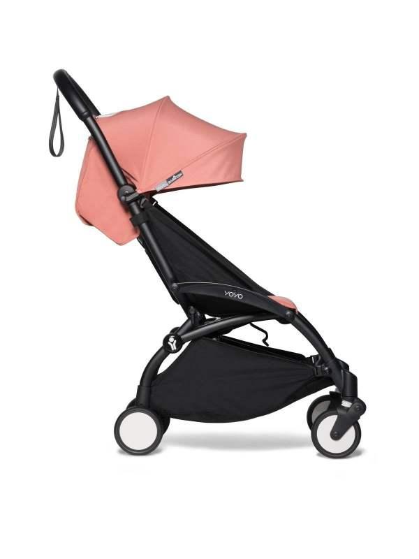 BABYZEN YOYO² vežimėlis 2in1 0+, 6+ rėmas Black, Ginger