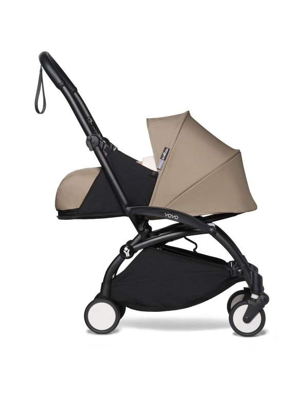 BABYZEN YOYO² vežimėlis 2in1 0+, 6+ rėmas Black, Taupe