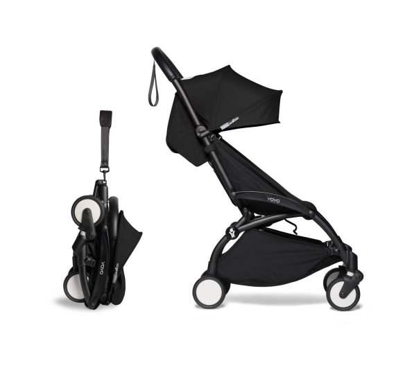 BABYZEN YOYO² vežimėlis 2in1 0+, 6+ rėmas Black, Black