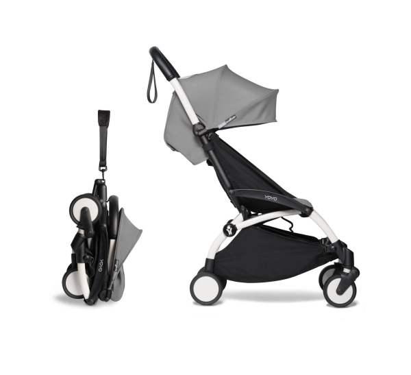 BABYZEN YOYO² vežimėlis 2in1 0+, 6+ rėmas Black, Grey