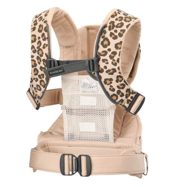 BABYBJÖRN nešioklė One Air, Beige/Leopard