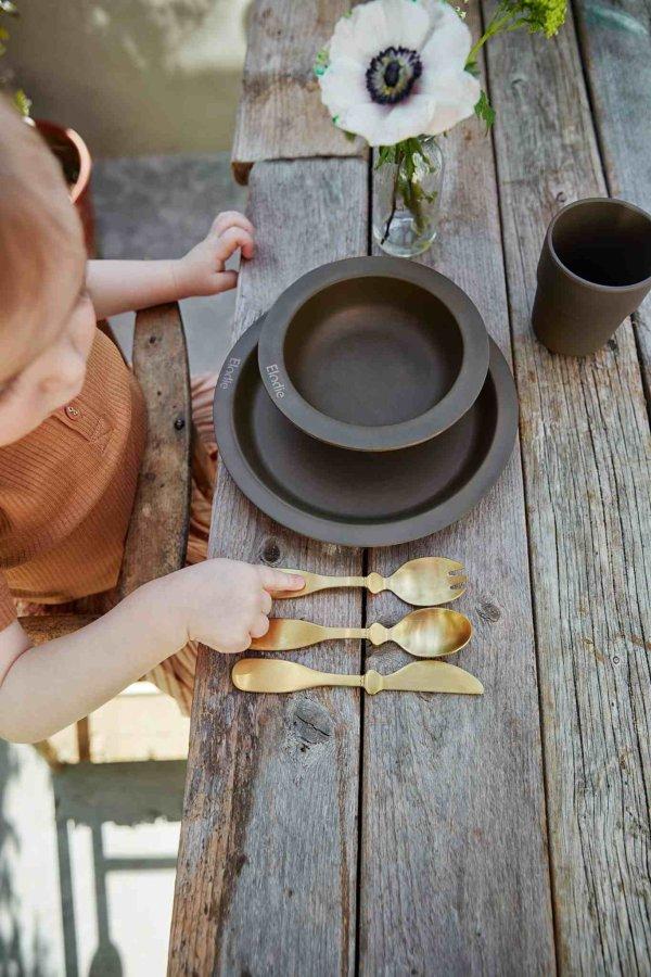 Elodie Details vaiko indų rinkinys, Chocolate